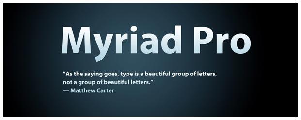 myriad-pro
